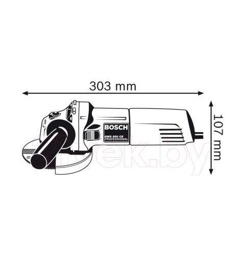 კუთხის საჭრელი მანქანა Bosch 0.601.378.793 - GWS 850CE