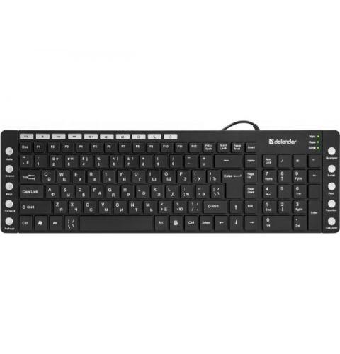 კლავიატურა Defender OfficeMate MM-810 USB(Black)
