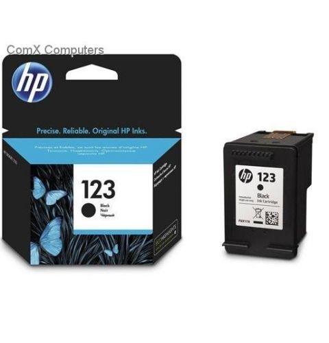 კარტრიჯი HP 123 Black Original Ink Cartridge (F6V17AE)