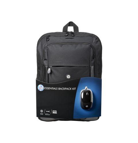 ნოუთბუქის ჩანთა+მაუსი HP Essentials Kit (E5L03AA)