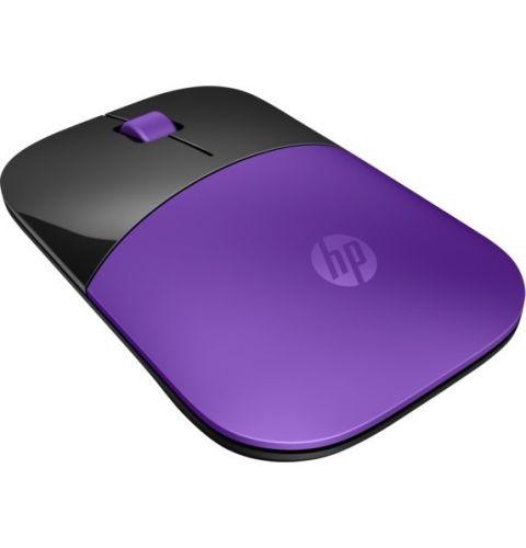 მაუსი HP Z3700 Purple Wireless Mouse(X7Q45AA)