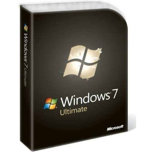 ლიცენზირებული Windows 7 Ultimate English Intl non-EU/EFTA DVD