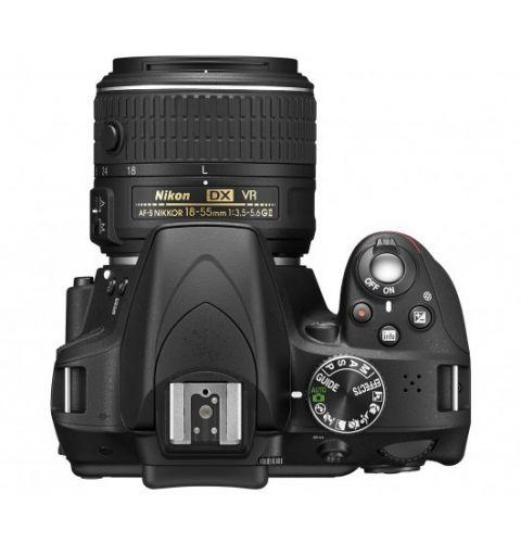 ფოტოაპარატი Nikon D5300 AF-P 18-55 VR KIT