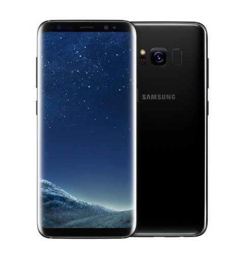 მობილური ტელეფონი Samsung Galaxy S8 LTE DUOS Midnight Black (SM-G950FZKDSER)