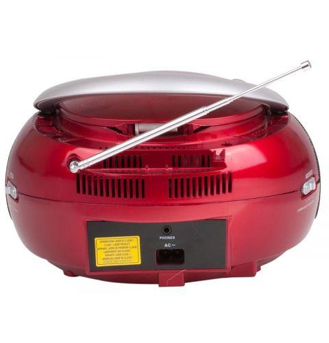 მაგნიტოფონი Trevi BOOMBOX CMP542USB Red