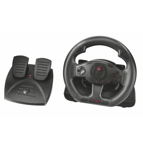 სათამაშო საჭე TRUST GXT 580 VIBRATION FEEDBACK RACING WHEEL